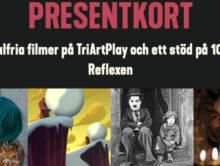 Årets julklapp: Stötta Biograf Reflexen genom att köpa presentkort på TriArtPlay